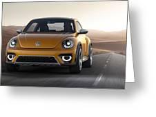 2014 Volkswagen Beetle Dune Concept Greeting Card