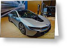 2015 Bmw I8 Hybrid Greeting Card
