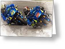 2015 Catalunya Top Motogp Saturday  Greeting Card