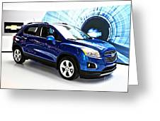 2015 Chevrolet Trax Number 1 Greeting Card