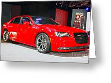 2015 Chrysler 300 Sport Greeting Card