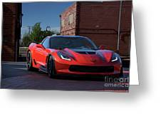 2015 Corvette Stingray  Greeting Card