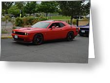 2015 Dodge Challenger Scat Pack Harper Greeting Card
