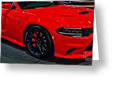 2015 Dodge Charger Srt Hellcat Greeting Card