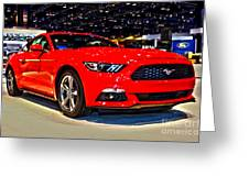2015 Ford Mustang Coupe I4 Premium Greeting Card