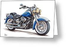 2015 Harley Softail Deluxe Greeting Card