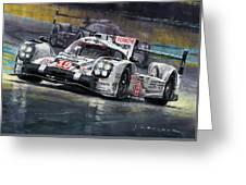 2015 Le Mans 24 Lmp1 Winner Porsche 919 Hybrid Bamber Tandy Hulkenberg Greeting Card