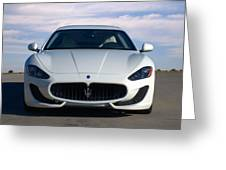 2015 Maserati Granturismo Greeting Card