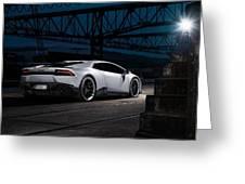 2015 Novitec Torado Lamborghini Huracan 3  1 Greeting Card