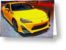 2015 Scion Fr-s Number 2 Greeting Card