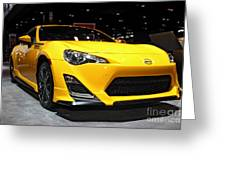 2015 Scion Fr_s Number 1 Greeting Card