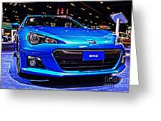 2015 Subaru Brz Greeting Card
