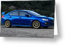 2015 Subaru Wrx Sti Greeting Card