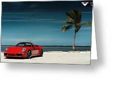 2015 Vorsteiner Porsche 911 Carrera 4s Vff 104 2 Greeting Card