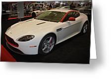 2016 Aston Martin Vantage Gt Coupe Greeting Card