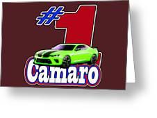 2016 Camaro Greeting Card