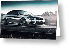 2016 Fostla De Bmw M3 Coupe 2 Greeting Card