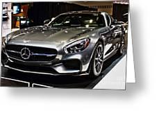 2016 Mercedes-amg Gts Greeting Card