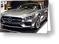 2016 Mercedes-amg Gts No 1 Greeting Card