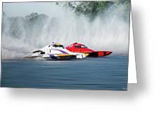 2017 Taree Race Boats 05 Greeting Card