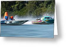 2017 Taree Race Boats 08 Greeting Card