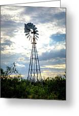 2017_08_midland Tx_windmill 2 Greeting Card