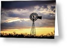 2017_09_midland Tx_windmill 3 Greeting Card