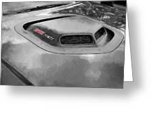 2018 Dodge Challenger 392 Hemi Scat Pack Shaker Rt 005 Greeting Card