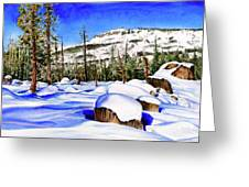 #202 Donner Summit Greeting Card