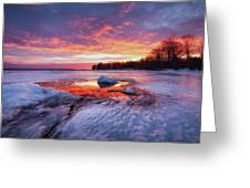 Lake Winnipesaukee Greeting Card