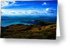 Landscape Graphic Greeting Card