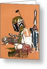 Star Wars Episode 1 Art Greeting Card