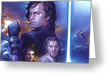 Star Wars For Art Greeting Card