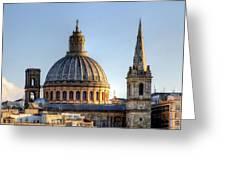 Valletta, Malta Greeting Card