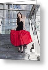 Fashion Shoot Greeting Card