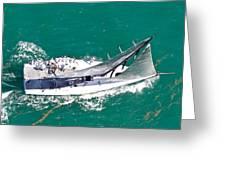Key West Regatta Greeting Card