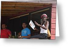Roatan People Greeting Card