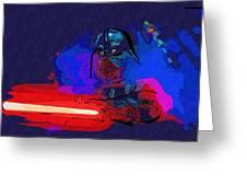 Vintage Star Wars Poster Greeting Card