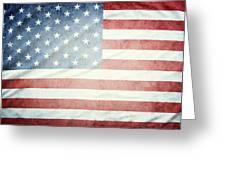 American Flag 37 Greeting Card