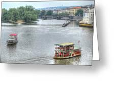 Budapesht  Hungary  Greeting Card