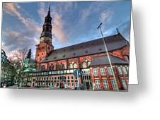 Hamburg Germany Greeting Card