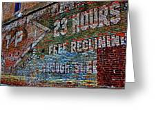 23 Hours Greeting Card