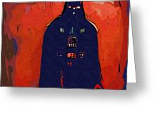 Star Wars At Art Greeting Card