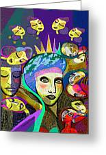 2355 Another Queen  2017 Greeting Card
