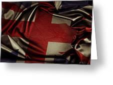 British Flag 5 Greeting Card