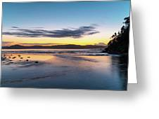 Daybreak Seascape Greeting Card