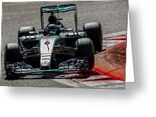 Formula 1 Monza Greeting Card