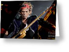 Keith Richards Collection Greeting Card