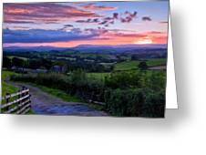 Landscape Az Greeting Card