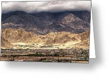 Landscape Of Ladakh Jammu And Kashmir India Greeting Card